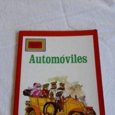 Libros de segunda mano: AUTOMÓVILES **BIBLIOTECA EDUCATIVA INFANTIL** MOLINO. Lote 244736820