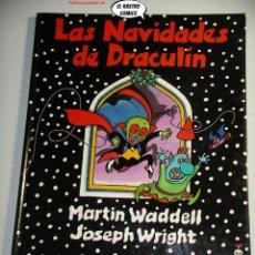 Libros de segunda mano: LAS NAVIDADES DE DRACULIN, ED. AKAL AÑO 1989, MUY DIFICIL. Lote 244775930