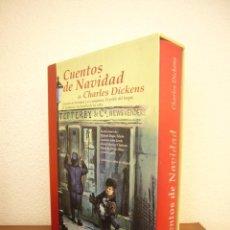Libros de segunda mano: CUENTOS DE NAVIDAD DE CHARLES DICKENS (EDHASA, 2007) ED. ILUSTRADA EN ESTUCHE. Lote 244899655