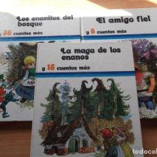 Libros de segunda mano: 3 LIBROS DE CUENTOS DE EDICIONES SUSAETA DE 1973. Lote 244919150