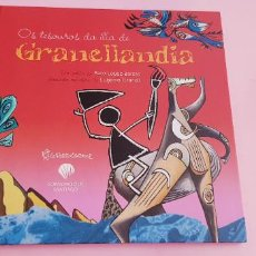 Libros de segunda mano: LIBRO-CUENTO-OS TESOUROS DA ILLA DE GRANELLANDIA-PACO LOPEZ BARXAS-BASADO EN OBRA DE EUGENIO GRANELL. Lote 244938110