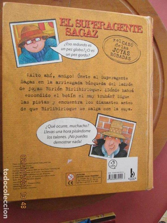Libros de segunda mano: EL SUPERAGENTE SAGAZ Y EL CASO DE LAS JOYAS ROBADAS - RICHARD FOWLER -Tapa dura – 19 noviembre 2008 - Foto 2 - 245362060