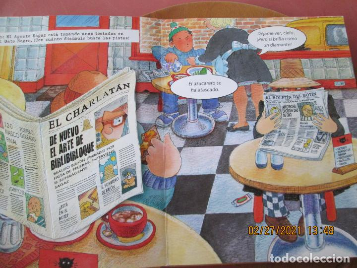 Libros de segunda mano: EL SUPERAGENTE SAGAZ Y EL CASO DE LAS JOYAS ROBADAS - RICHARD FOWLER -Tapa dura – 19 noviembre 2008 - Foto 3 - 245362060