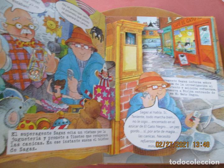 Libros de segunda mano: EL SUPERAGENTE SAGAZ Y EL CASO DE LAS JOYAS ROBADAS - RICHARD FOWLER -Tapa dura – 19 noviembre 2008 - Foto 5 - 245362060