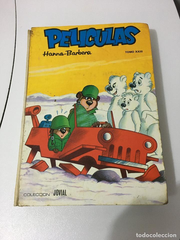 LIBRO DE PELICULAS TOMO XXIII HANNA BARBERA. ED. JOVIAL (1973) (Libros de Segunda Mano - Literatura Infantil y Juvenil - Cuentos)
