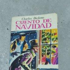 Libros de segunda mano: CUENTO DE NAVIDAD. CHARLES DICKENS. PETETE 1982. MINIBIBLIOTECA DE LA LITERATURA UNIVERSAL. Lote 245485955