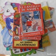 Libros de segunda mano: CUENTOS INFANTILES. ESPECTACULAR LOTE DE 60 CUENTOS. ALGUNOS TROQUELADOS. 1800 GRAMOS.. Lote 245602180