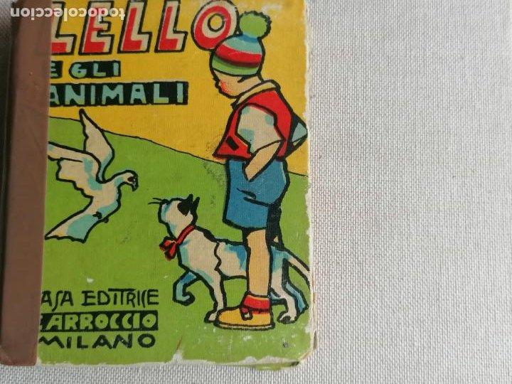 LILLO E GLI ANIMALI BIBLIOTECA BAILLLA. 1934 56PP (Libros de Segunda Mano - Literatura Infantil y Juvenil - Cuentos)