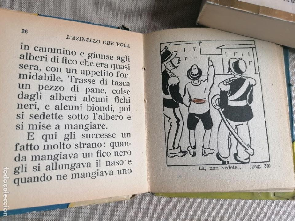 Libros de segunda mano: L,asinello che vola. Biblioteca Balilla. 1935 56pp Italiano - Foto 2 - 245726230