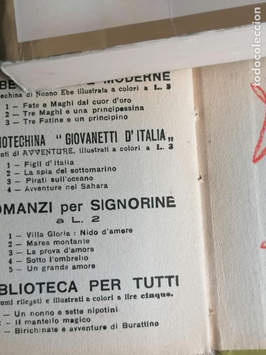 Libros de segunda mano: L,asinello che vola. Biblioteca Balilla. 1935 56pp Italiano - Foto 3 - 245726230