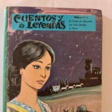 Libros de segunda mano: CUENTOS Y LEYENDAS Nº 4. LA CASITA DE CHOCOLATE. LOS TRES CERDITOS. LA NARIZ. Lote 246105475