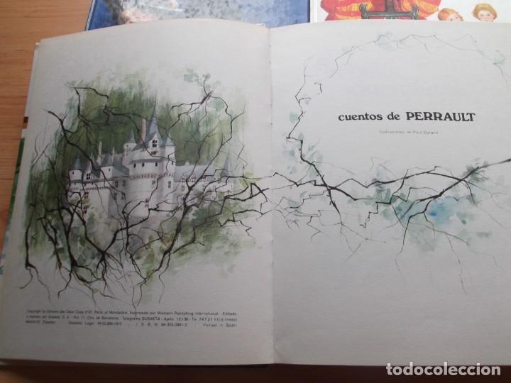 Libros de segunda mano: 3 Libros de cuentos Andersen,Grim y Perrault de colección tus amigos - Foto 2 - 246162080