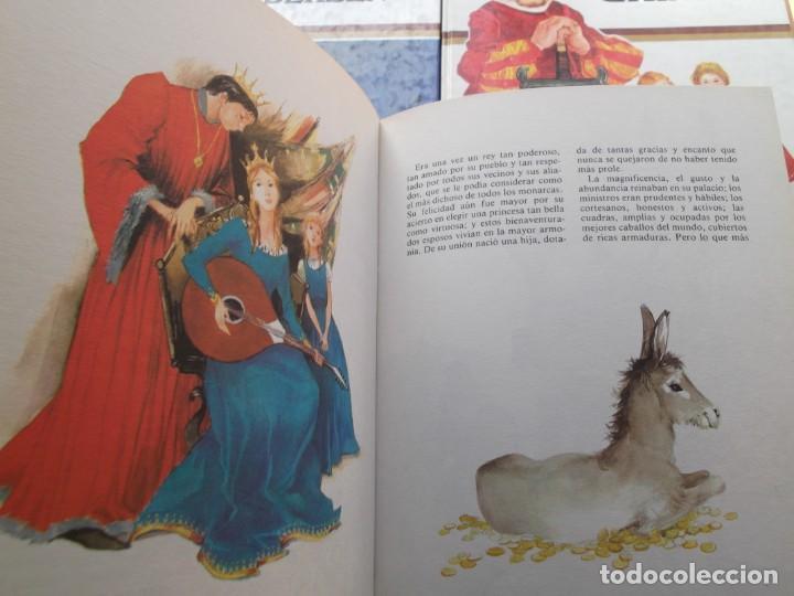 Libros de segunda mano: 3 Libros de cuentos Andersen,Grim y Perrault de colección tus amigos - Foto 3 - 246162080