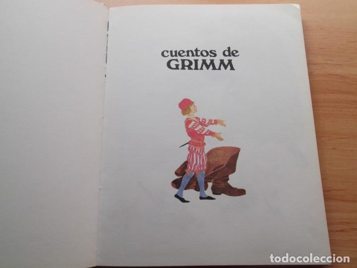 Libros de segunda mano: 3 Libros de cuentos Andersen,Grim y Perrault de colección tus amigos - Foto 6 - 246162080