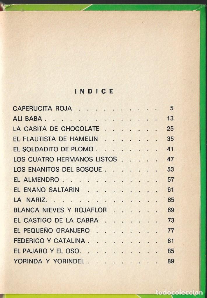 Libros de segunda mano: LOTE 5 LIBROS CUENTOS FAMOSOS - EDICIONES LAIDA - EDITORIAL FHER - AÑOS 1977. - Foto 3 - 246821540