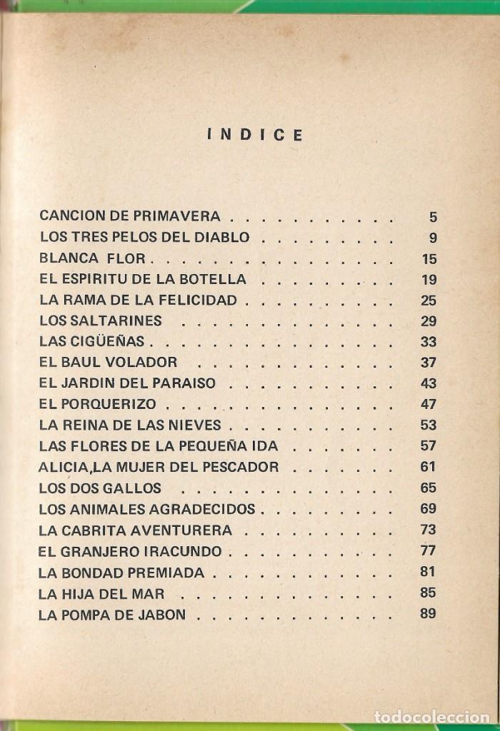 Libros de segunda mano: LOTE 5 LIBROS CUENTOS FAMOSOS - EDICIONES LAIDA - EDITORIAL FHER - AÑOS 1977. - Foto 7 - 246821540