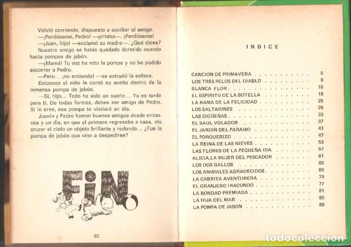Libros de segunda mano: LOTE 5 LIBROS CUENTOS FAMOSOS - EDICIONES LAIDA - EDITORIAL FHER - AÑOS 1977. - Foto 11 - 246821540