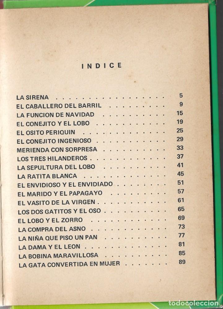 Libros de segunda mano: LOTE 5 LIBROS CUENTOS FAMOSOS - EDICIONES LAIDA - EDITORIAL FHER - AÑOS 1977. - Foto 15 - 246821540