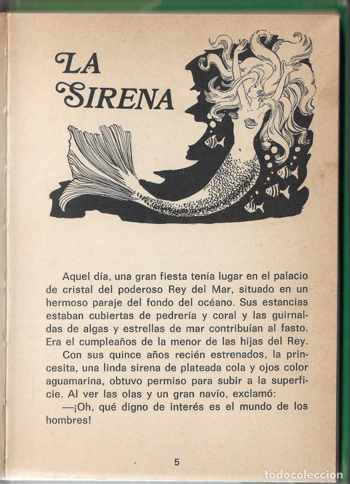 Libros de segunda mano: LOTE 5 LIBROS CUENTOS FAMOSOS - EDICIONES LAIDA - EDITORIAL FHER - AÑOS 1977. - Foto 16 - 246821540
