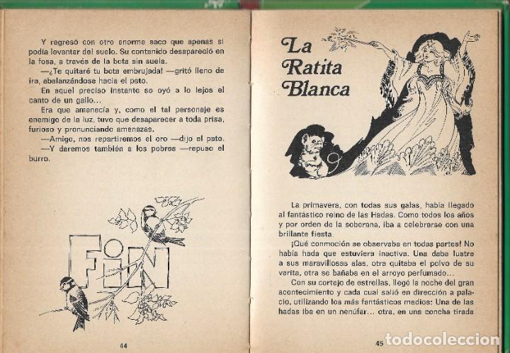 Libros de segunda mano: LOTE 5 LIBROS CUENTOS FAMOSOS - EDICIONES LAIDA - EDITORIAL FHER - AÑOS 1977. - Foto 18 - 246821540