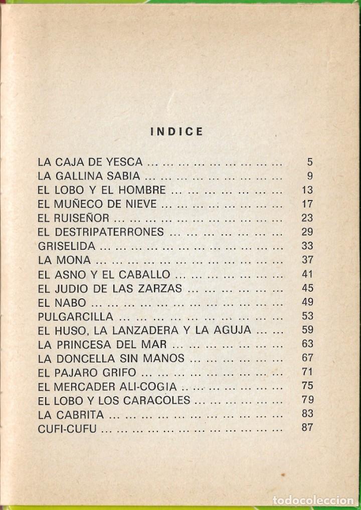 Libros de segunda mano: LOTE 5 LIBROS CUENTOS FAMOSOS - EDICIONES LAIDA - EDITORIAL FHER - AÑOS 1977. - Foto 20 - 246821540
