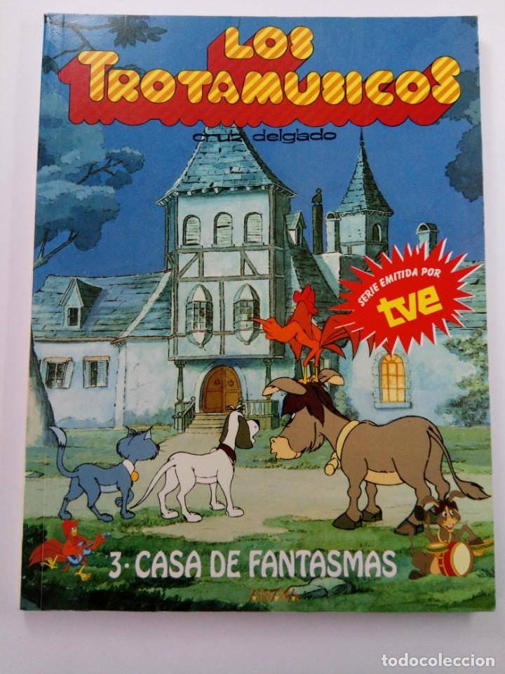 LOS TROTAMUSICOS 3 - CASA DE FANTASMAS - CRUZ DELGADO - ANAYA (Libros de Segunda Mano - Literatura Infantil y Juvenil - Cuentos)