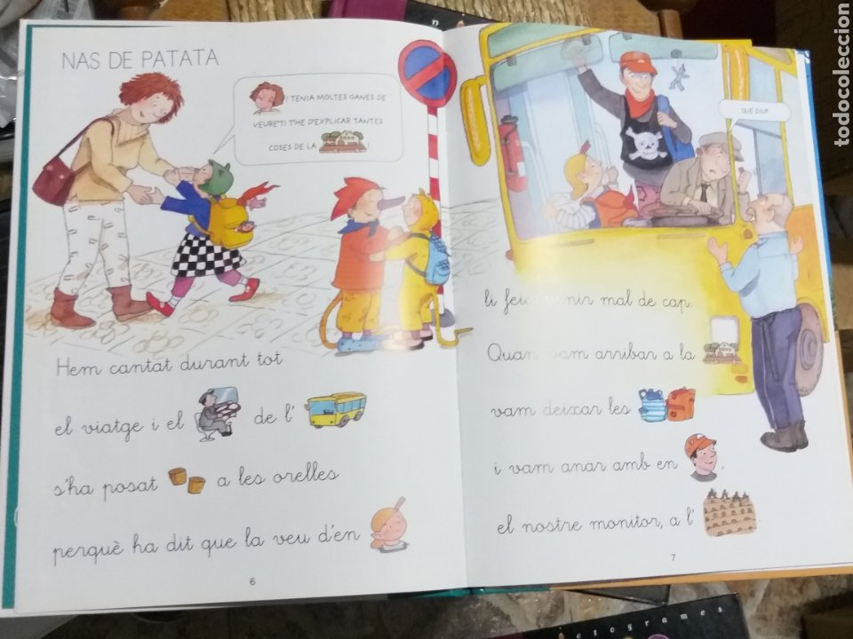 Libros de segunda mano: LOTE, català. Pictogramas, editorial Cruilla - Foto 7 - 248059560