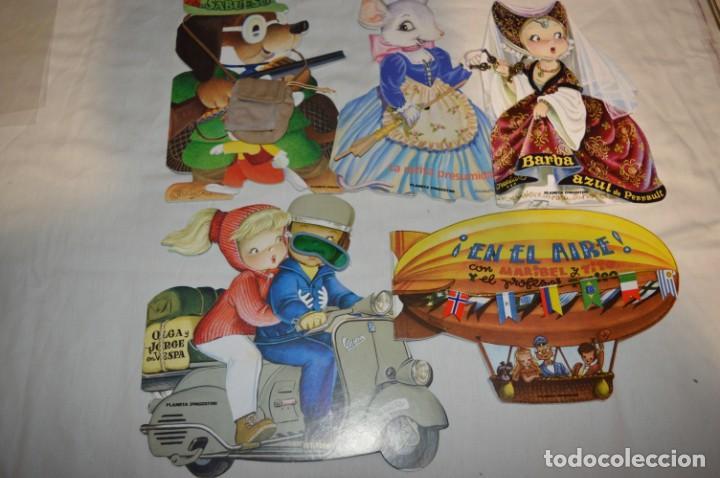 5 CUENTOS TROQUELADOS INOLVIDABLES DE FERRÁNDIZ / EDICIÓN PLANETA DEAGOSTINI / AÑO 2009 / LOTE 03 (Libros de Segunda Mano - Literatura Infantil y Juvenil - Cuentos)