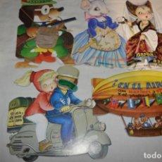 Libros de segunda mano: 5 CUENTOS TROQUELADOS INOLVIDABLES DE FERRÁNDIZ / EDICIÓN PLANETA DEAGOSTINI / AÑO 2009 / LOTE 03. Lote 248304710