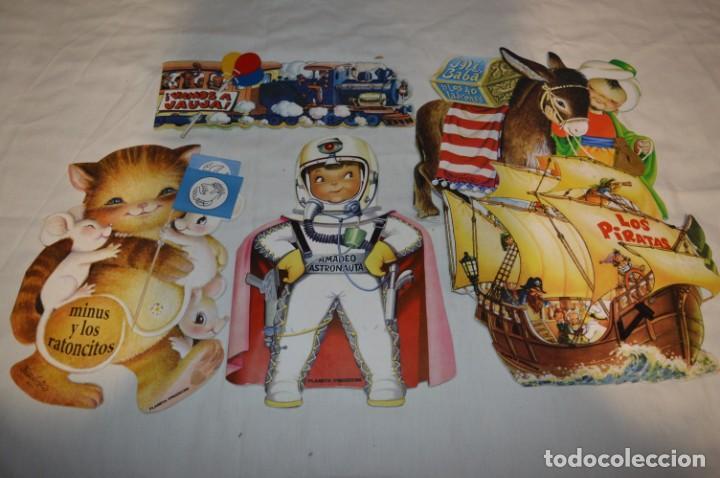 5 CUENTOS TROQUELADOS INOLVIDABLES DE FERRÁNDIZ / EDICIÓN PLANETA DEAGOSTINI / AÑO 2009 / LOTE 02 (Libros de Segunda Mano - Literatura Infantil y Juvenil - Cuentos)