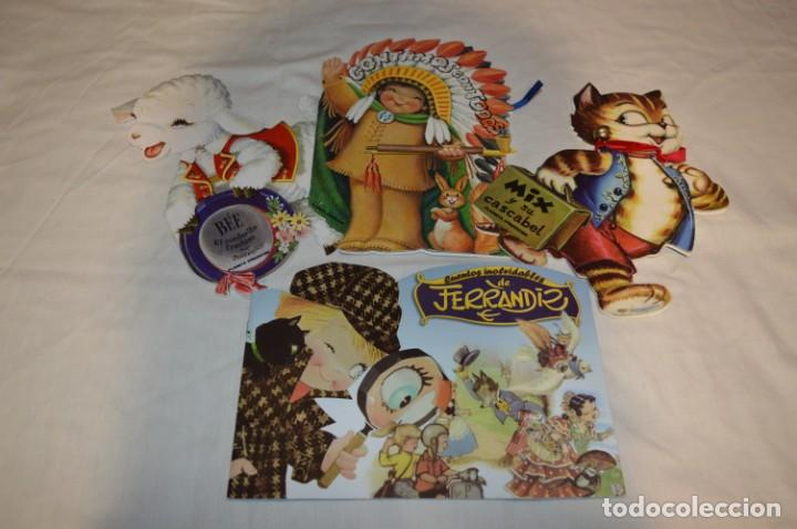 3 CUENTOS TROQUELADOS INOLVIDABLES DE FERRÁNDIZ / EDICIÓN PLANETA DEAGOSTINI / AÑO 2009 / LOTE 00 (Libros de Segunda Mano - Literatura Infantil y Juvenil - Cuentos)