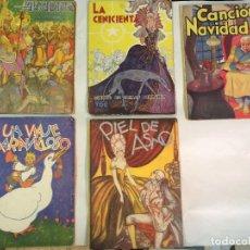 Libros de segunda mano: CUENTOS EDITORIAL TOR, 5 LIBROS, AÑOS 40. Lote 89048772