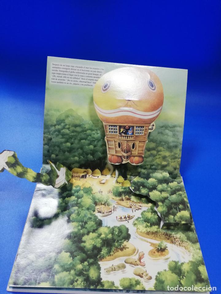 Libros de segunda mano: EL VIAJE EN UN GLOBO FANTASTICO. CUENTO TROQUELADO A COLOR. LICENCIA EDITORIAL 2001. VER FOTOS. - Foto 8 - 248721245