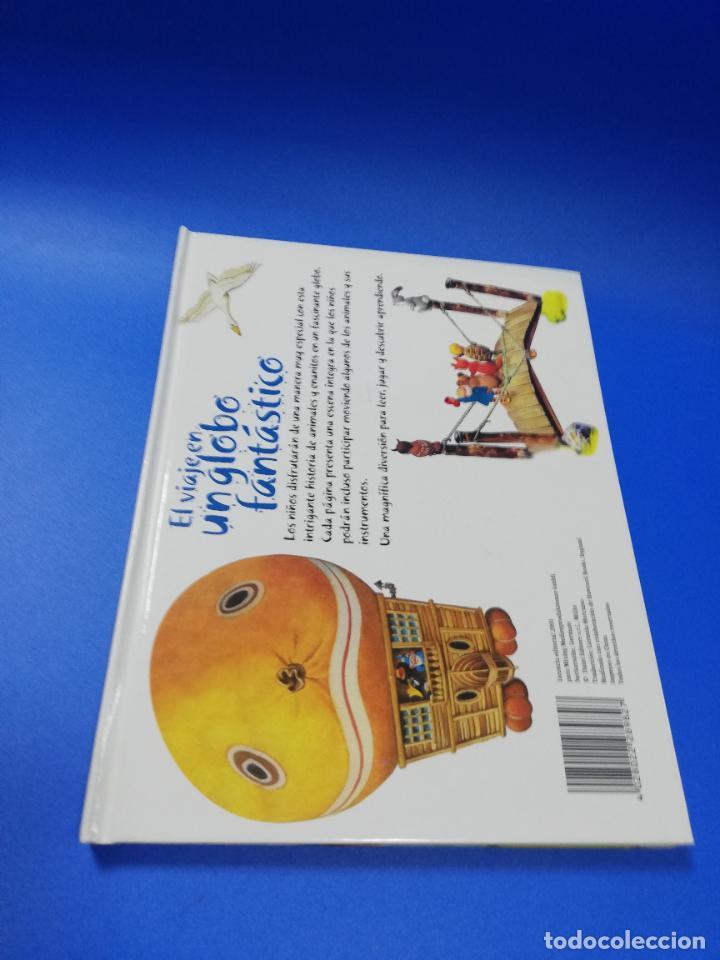 Libros de segunda mano: EL VIAJE EN UN GLOBO FANTASTICO. CUENTO TROQUELADO A COLOR. LICENCIA EDITORIAL 2001. VER FOTOS. - Foto 11 - 248721245