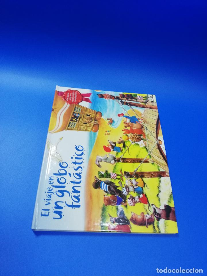 EL VIAJE EN UN GLOBO FANTASTICO. CUENTO TROQUELADO A COLOR. LICENCIA EDITORIAL 2001. VER FOTOS. (Libros de Segunda Mano - Literatura Infantil y Juvenil - Cuentos)