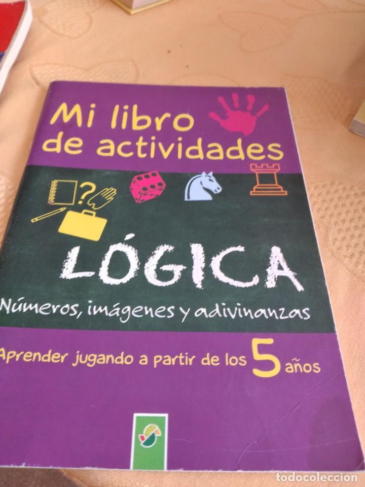 M-28 LIBRO MI LIBRO DE ACTIVIDADES LOGICA 5 AÑOS (Libros de Segunda Mano - Literatura Infantil y Juvenil - Cuentos)