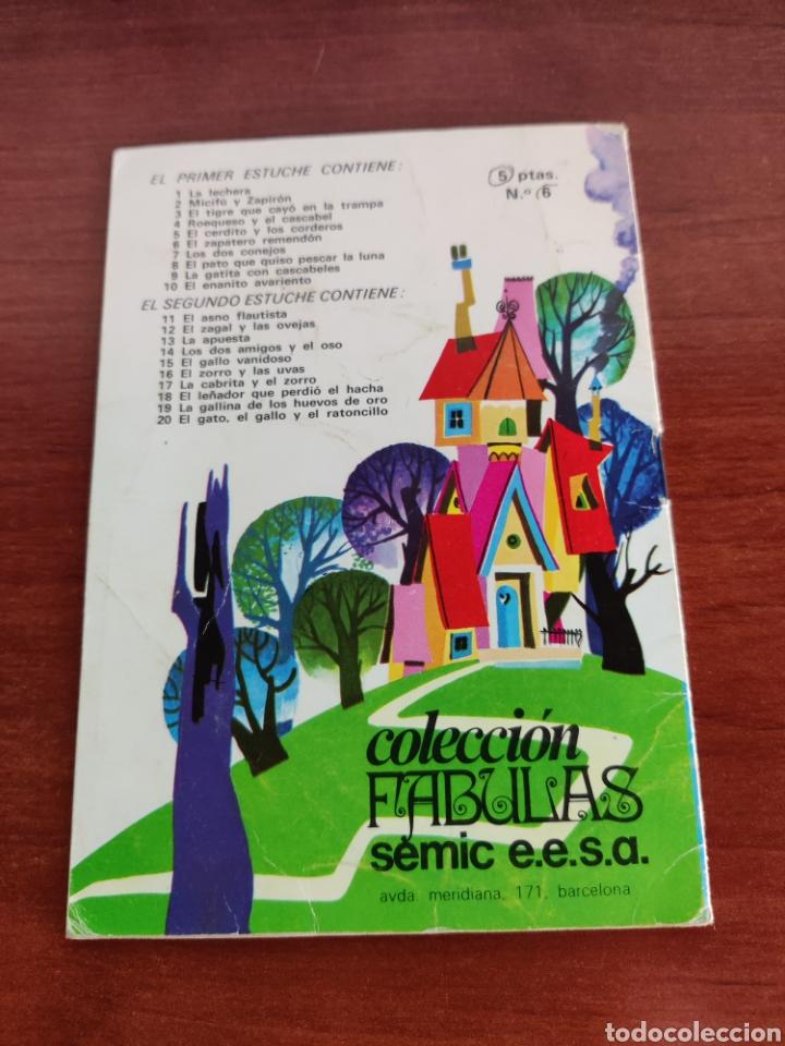 Libros de segunda mano: El Zapatero Remendon Colección Fabulas semic e.e.s.a. número 6 - Foto 3 - 250136435