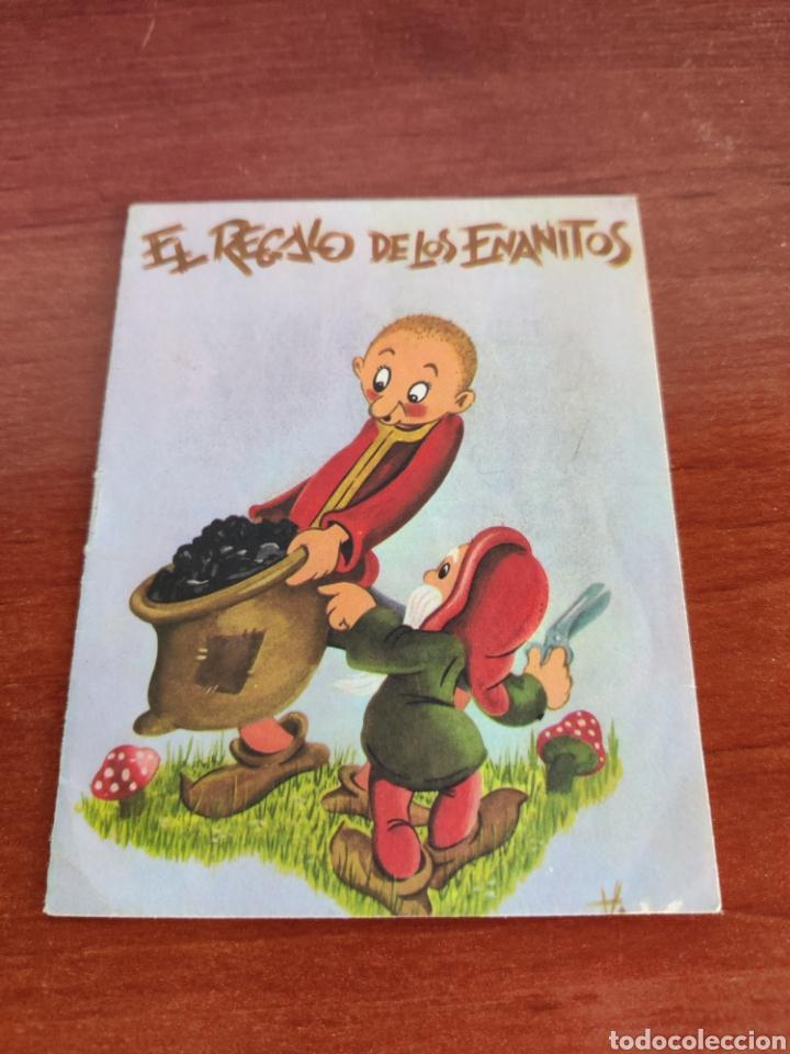 MINI CUENTOS COLECCIÓN CUENTITOS LUSA EL REGALO DE LOS ENANITOS (Libros de Segunda Mano - Literatura Infantil y Juvenil - Cuentos)
