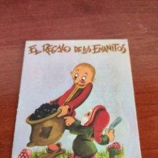 Libros de segunda mano: MINI CUENTOS COLECCIÓN CUENTITOS LUSA EL REGALO DE LOS ENANITOS. Lote 250137555
