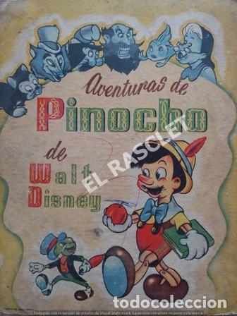ANTIGÜO LIBRO CUENTO - AVENTURAS DE PINOCHO DE WALT DISNEY - 3ª EDICION (Libros de Segunda Mano - Literatura Infantil y Juvenil - Cuentos)
