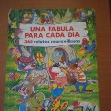 Livros em segunda mão: UNA FÁBULA PARA CADA DÍA. Lote 252828155