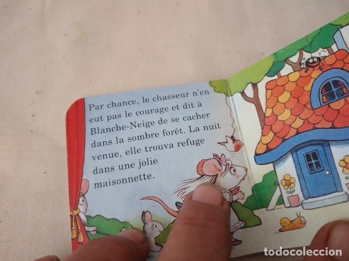 Libros de segunda mano: Lote de 4 cuentos de bolsillo,de carton duro,la princesa y el piojo,blanca nieves,la bella y la best - Foto 7 - 252883875