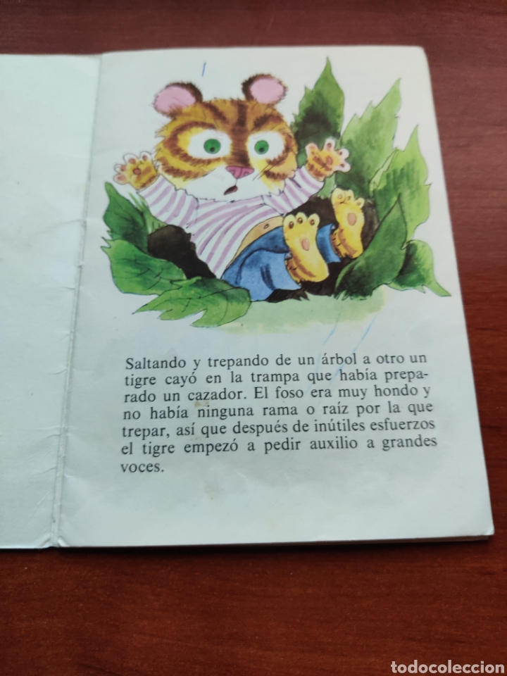 Libros de segunda mano: El Tigre que Cayó en la Trampa colección Fábulas Semic e.e.s.a. número 3 - Foto 2 - 253585125