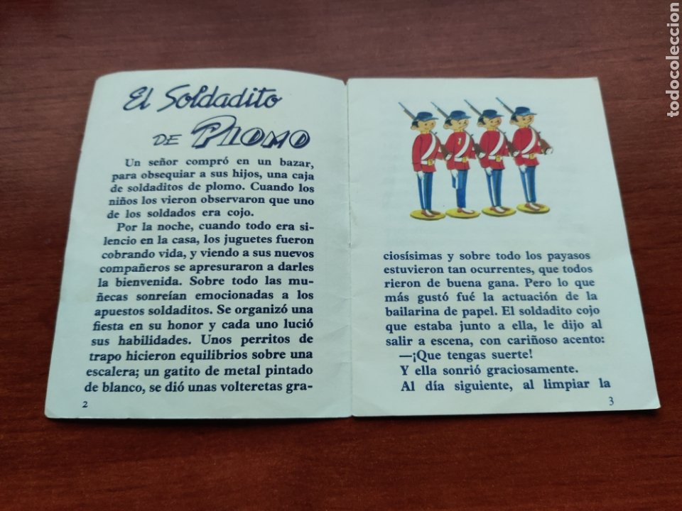 Libros de segunda mano: El Soldadito de Plomo Cuentitos Lusa - Foto 2 - 253585265