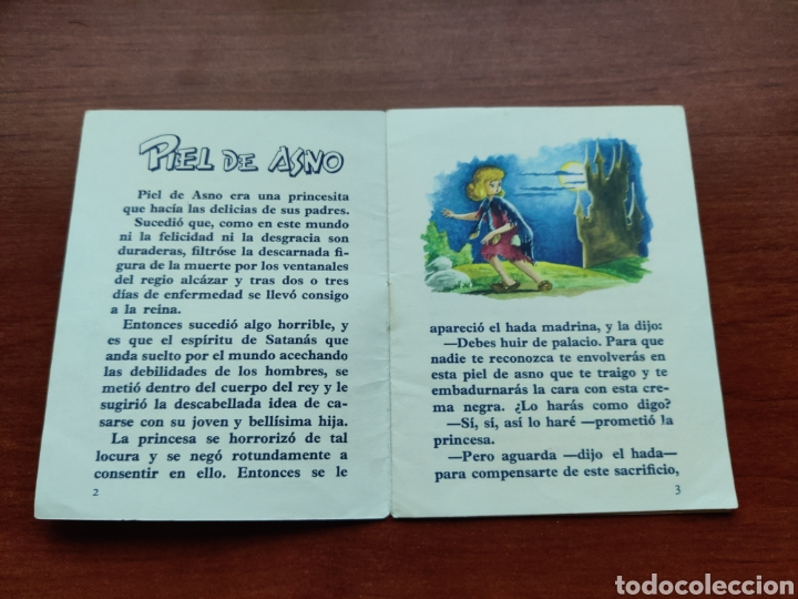 Libros de segunda mano: Piel de Asno Cuentitos Lusa - Foto 2 - 253585285