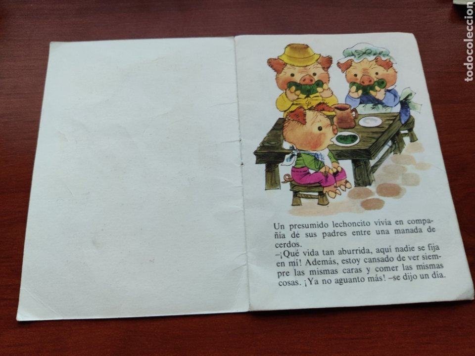 Libros de segunda mano: El Cerdito y los Corderos Colección Fabulas semic e.e.s.a. número 5 - Foto 2 - 253585325