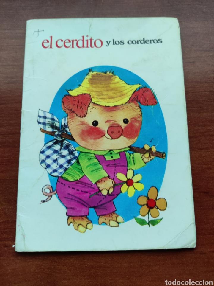 EL CERDITO Y LOS CORDEROS COLECCIÓN FABULAS SEMIC E.E.S.A. NÚMERO 5 (Libros de Segunda Mano - Literatura Infantil y Juvenil - Cuentos)