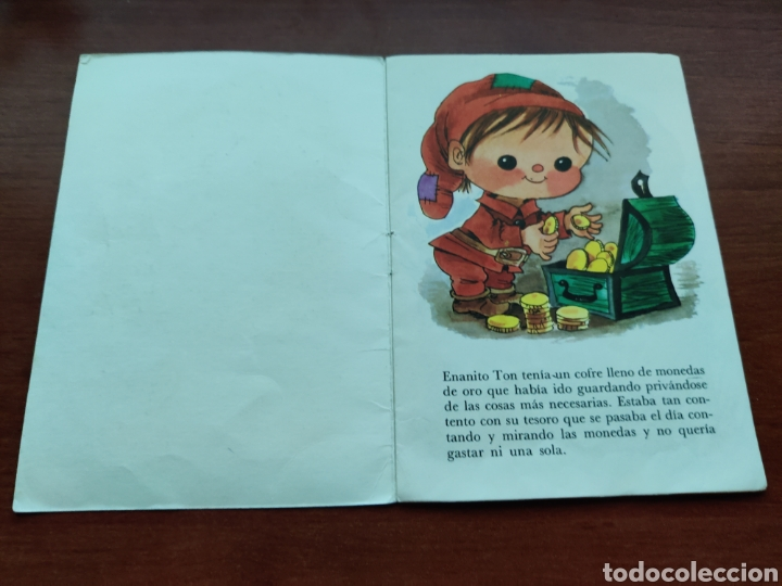 Libros de segunda mano: El Enanito Avariento Colección Fabulas semic e.e.s.a. número 10 - Foto 2 - 253585360