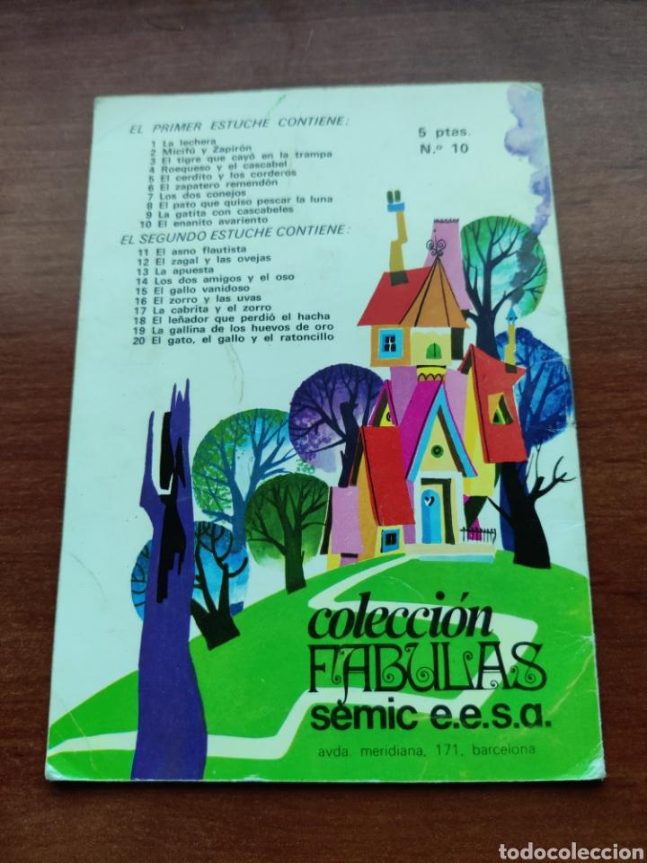 Libros de segunda mano: El Enanito Avariento Colección Fabulas semic e.e.s.a. número 10 - Foto 3 - 253585360