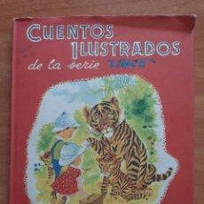 Libros de segunda mano: 1961 CUENTOS ILUSTRADOS DE LA SERIE LINCE - Nº 2 / A COLOR. Lote 254015080